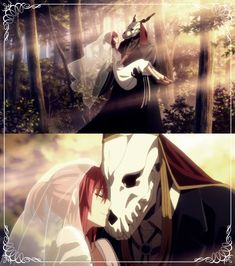 Anime Kiss, Anime Art, Elias Ainsworth, Chise Hatori, The Ancient Magus Bride, Fish Wallpaper, Anime Group, Fanart, Lord