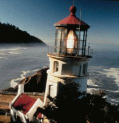 Heceta Head Lighthouse is one of 11 lighthouses in Oregon and is found north of Florence, Oregon. The former keeper's residence located adjacent to the lighthouse is now a bed & breakfast! | Travel Oregon