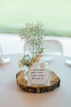 Sweet Intimate Wedding in East Tennessee Natural Rustic Wedding Decor with Wood Platter and Baby Brunch Wedding, Wedding Table, Rustic Wedding, Elegant Wedding, Summer Wedding, Natural Wedding Decor, Romantic Weddings, Dream Wedding, Wedding Hall Decorations