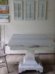 Antique Pedestal Table - VarageSale Sarnia
