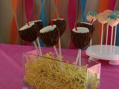 Coconut Drink Cake Pops