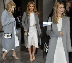 Who Wore the Long Grey Coat Best? How 5 Celebrities Styled Theirs