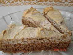 Vague No lie and Gm Diet Articles Sugar Free Deserts, Good Food, Yummy Food, Hungarian Recipes, Hungarian Food, Cheesecake, Baking And Pastry, Gluten Free Desserts, Healthy Desserts