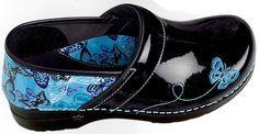 Nursing Shoes - Koi by Sanita Haley Blue Professional Clog | Koi by Sanita Clogs | Sanita Clogs | www.LydiasUniforms.com