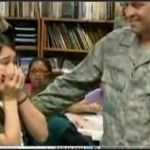 U.S. Airman Surprises His Daughter at School     An Airman returning from deployment to Afghanistan surprised his daughter during class. TODAY's Dara Brown reports...
