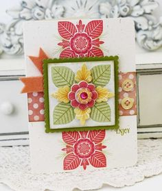 Enjoy Card by Melissa Phillips for Papertrey Ink (June 2012)