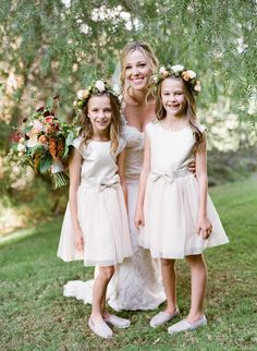 Photography : Chloe Moore Photography | Floral Design : Carla Kayes | Wedding Dress : Paloma Blanca | Bridesmaids Dresses : Guess Read More on SMP: http://www.stylemepretty.com/california-weddings/temecula/2016/04/08/california-bride-groom-create-a-destination-wedding-near-home/