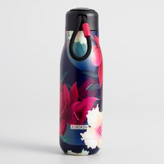 Medium Paradise Floral Zoku Insulated Water Bottle by World Market - Products