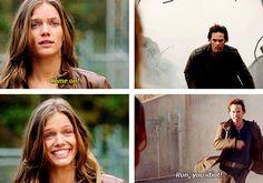 """""""Run, you idiot!"""" – Miles"""