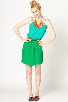 The Grass is Greener Dress