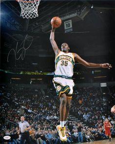 2e22573a8 Kevin Durant Autographed 16x20 Photo - JSA  SportsMemorabilia   SeattleSupersonics