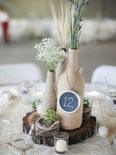 свадебный декор рустик