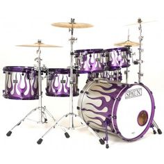 need i say anything? oh wait. I thought of something! THIS IS THE COOLEST DRUM SET EVER!
