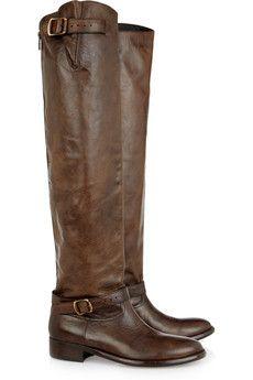 Belstaff - Jordan leather knee boots