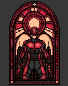 I've been doing a lot of these stained glass designs lately so expect some more of em My Teepublic Stained Glass Daredevil Daredevil Punisher, Daredevil Artwork, Marvel Comic Character, Marvel Characters, Marvel Vs, Marvel Dc Comics, Daredevil Matt Murdock, Marvel Series, Marvel Cinematic Universe