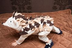 This is adorable!! Hedgehog Costume Party Porcupine Costume or by BeauMiracle on Etsy, $33.00