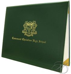 """Standard High School Diploma for Homeschool, with 8.5"""" x 11"""" Padded Cover and Embossed Seal"""