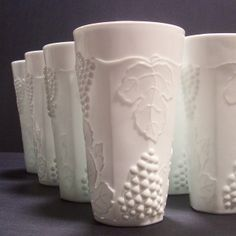 Part of my milk glass collection   Was a wedding present to my parents