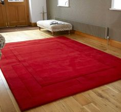 Apollo Red Rugs | Modern Rugs