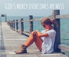 And I am so grateful!!  God overcoming my mess is my life story. #sweetgrace