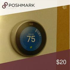 Thermostat Smart learning temperature device for the home or office Other