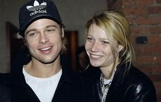 Brad Pitt & Gwyneth Paltrow started dating in 1995 and became engaged for a while.