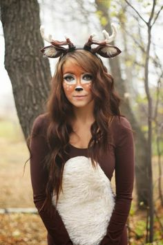 Disfraz de carnaval en sí mismo con mucha imaginación y deseo. - Disfraz de carnaval en sí mismo con mucha imaginación y deseo. Handmade Halloween Costumes, Hallowen Costume, Cute Costumes, Carnival Costumes, Costumes For Women, Costume Ideas, Bambi Costume, Sven Costume, Deer Costume Diy