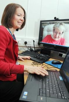 Airedale Hospital pilots telemedicine video link:  State-of-the-art technology at Airedale Hospital which allows patients to receive treatment without having to visit hospital is being used to help a woman with Parkinson's Disease.