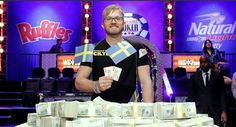 Martin Jacobson takes it all. Wins the 45th Annual World Series of Poker Championship, 10 million dollars and the coveted gold bracelet worth more than half a million.