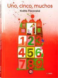 Uno, cinco, muchos . Kveta Pacovska, ed. kokinos. Juga amb els nombres, textures i collages suggereix nocions senzilles sobre geometria teoria de conjunts suma... a més molt bones il.lustracions. Per als mes menuts.  #Kveta Pacovska