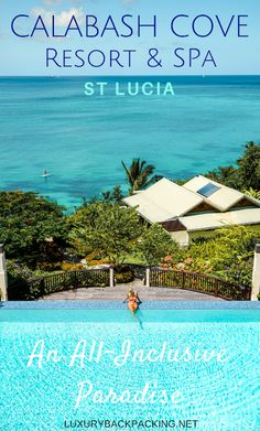 Review of Calabash Cove Resort & Spa, St Lucia. An All-Inclusive Paradise adults only resort waiting to be discovered.