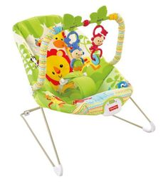 Infant To Toddler Fisher Price Pink Owl Rocker Bouncer