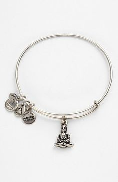 Alex and Ani Buddha Expandable Wire Bangle available at #Nordstrom $28