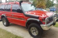 1992 Mitsubishi Pajero GL NH Manual 4WD