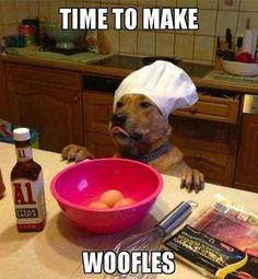 """Lol """"woofles"""""""