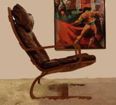norway chairs | Danish Modern Westnofa Lounge Chair Iconic Vintage Design 70s 1970s
