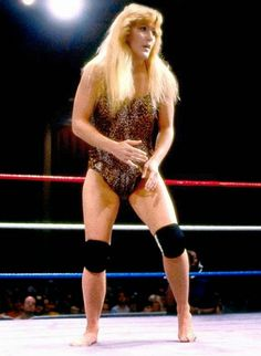 Remember back when some female wrestlers actually wrestled barefoot?