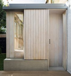 Studio Carver adds American-inspired prefabricated extension to Belsize House Residential Architecture, Modern Architecture, London Architecture, Timber Cladding, London House, Park Homes, House Extensions, Exterior Design, New Homes