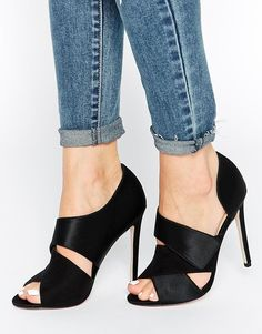 Imagen 1 de Tacones altos peep toe PACIFIC CITY de ASOS