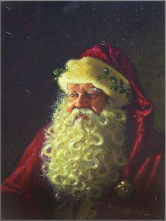 Dean Morrissey - Father Christmas (Portrait)