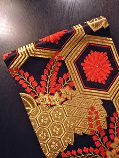 Obi. I need traditional Japanese textiles in the house. Gorgeous works of art in thread.