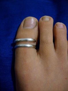 Big Toe ring Solid silver by VsporaArt on Etsy, $31.00
