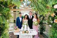 Beautiful Photo Post Wedding Ceremony! | Garden Ceremony and signing | Eschol Park House| by The Moments Photography