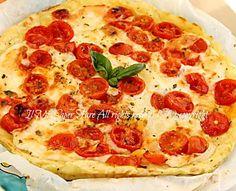 Pizza margherita di patate | Finta pizza