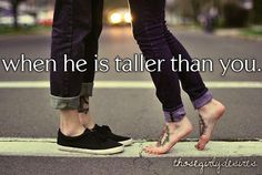 ya, thats never not going to happen, unless I date a midget.