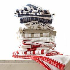 Williams-Sonoma Classic Striped Towels, Set of 4 #williamssonoma (in khaki color)