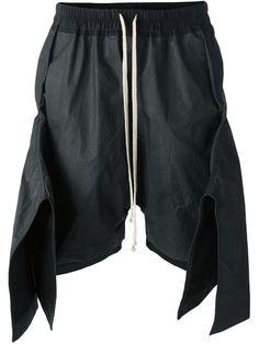 6d2e1b515112 Comprar Rick Owens shorts asimétricos en Degli Effetti Women from the  world s best independent boutiques at