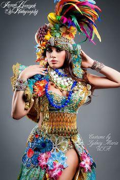 Carmem Miranda Sexy Costume by SydneyMariaUSA on Etsy, $2999.00