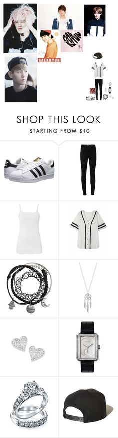 """""""Happy Birthday baekhyun!!"""" by tkyle134 ❤ liked on Polyvore featuring beauty, adidas Originals, Frame Denim, maurices, Lucky Brand, Vivienne Westwood, Chanel, Bling Jewelry and Brixton"""