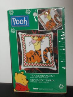 Disney's Tigger Craft Kit Counted Cross Stitch Ornament 4Hx4.25W'Winnie The Pooh #LeisureArts